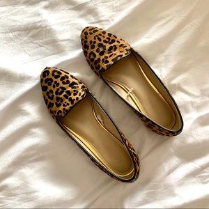 Banana Republic leopard flats